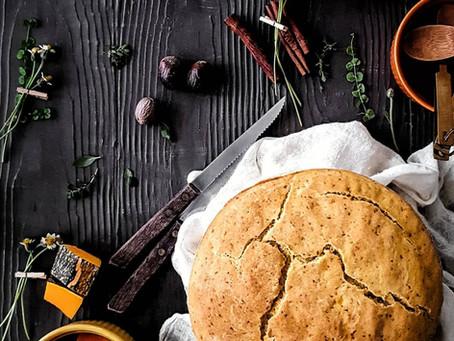Gluten Free and Vegan Pumpkin Bake (Bread)