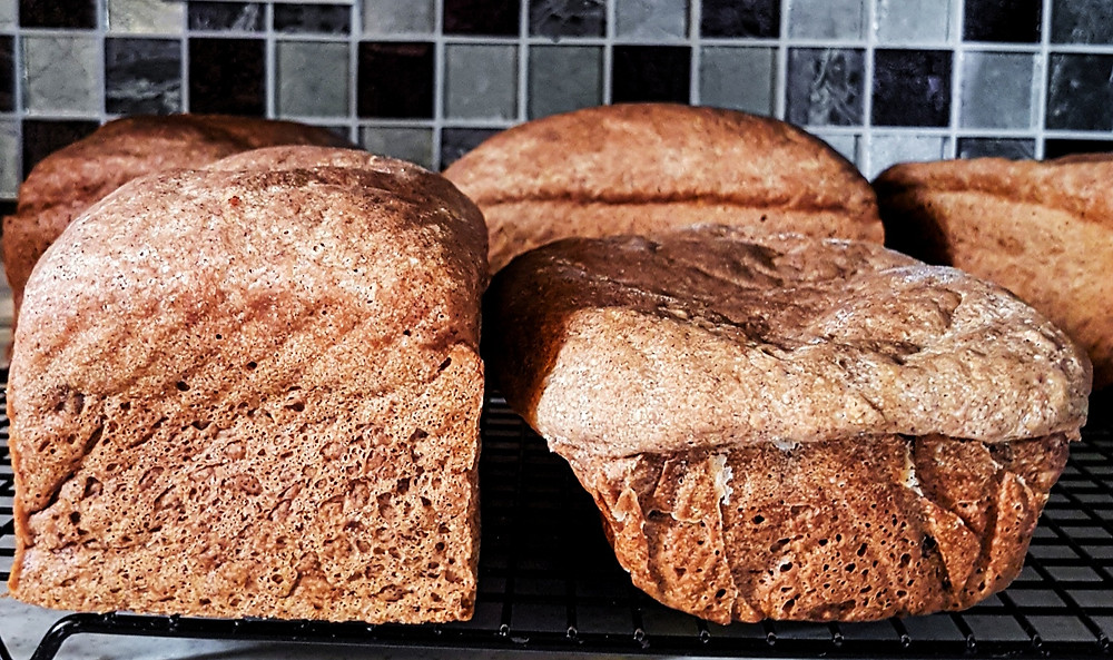 The effects of baking gluten free bread in the wrong tin