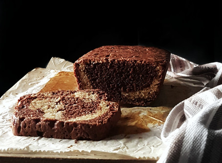 Yeasted Chocolate Marble Bread