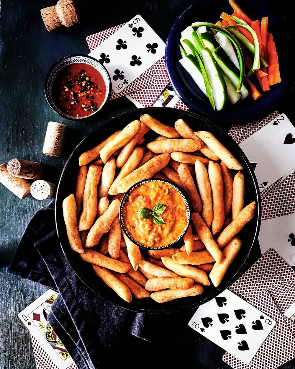 Gluten Free and Vegan Garlic Breadsticks