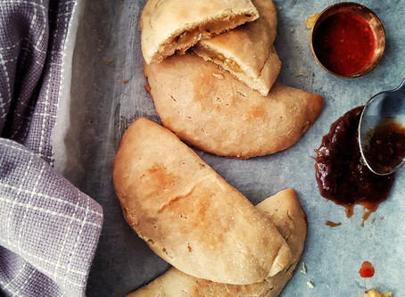Aloo Pie (an Indo-Caribbean potato filled hand pie)