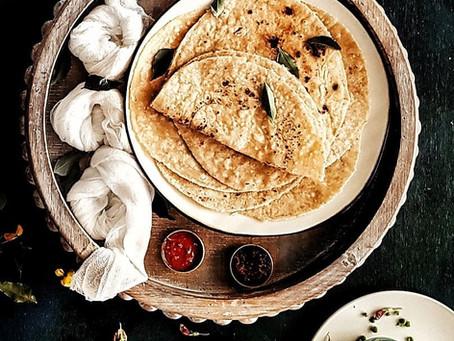 Gluten Free Vegan Sada Style Roti