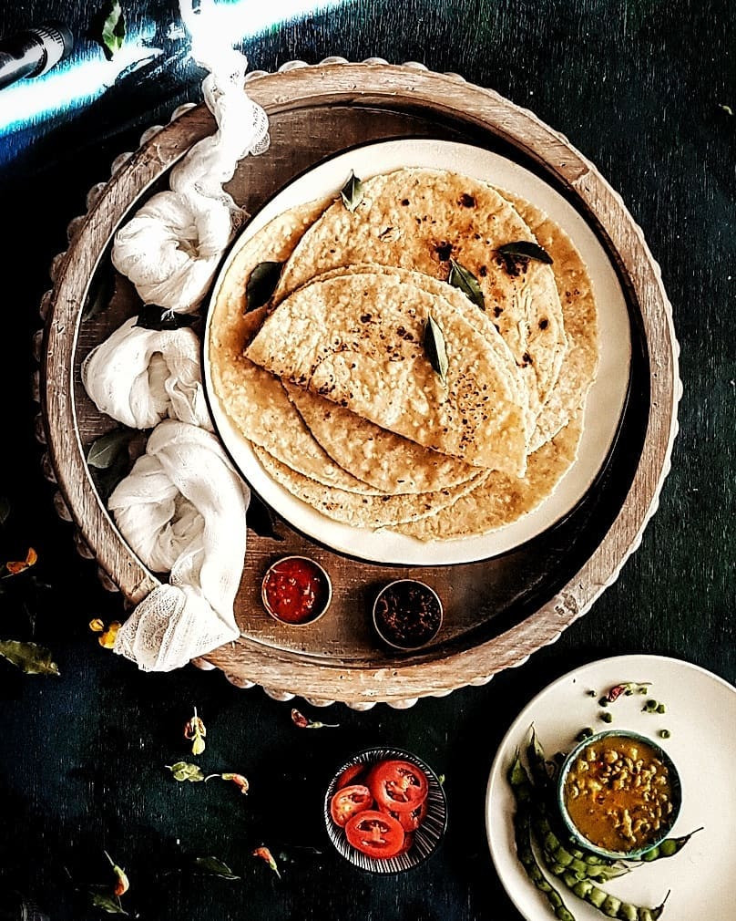 Trini Style Sada Roti