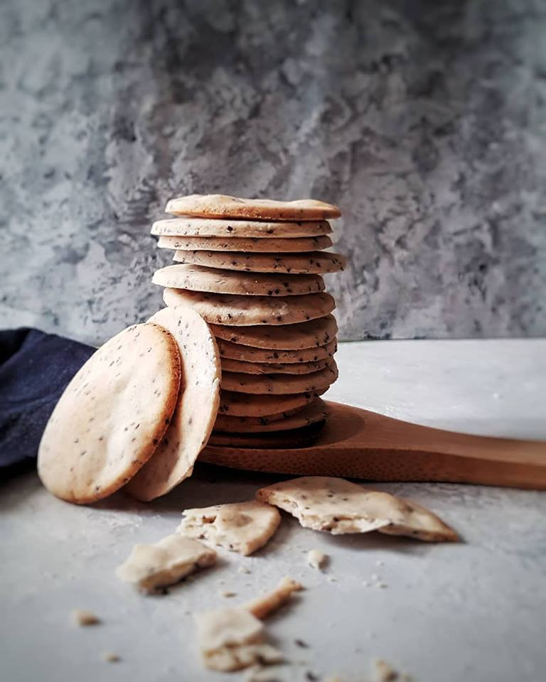 Simple and Delicious Gluten Free Vegan Crackers