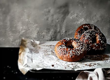 Gluten Free, Vegan Bagels (quick and easy recipe)