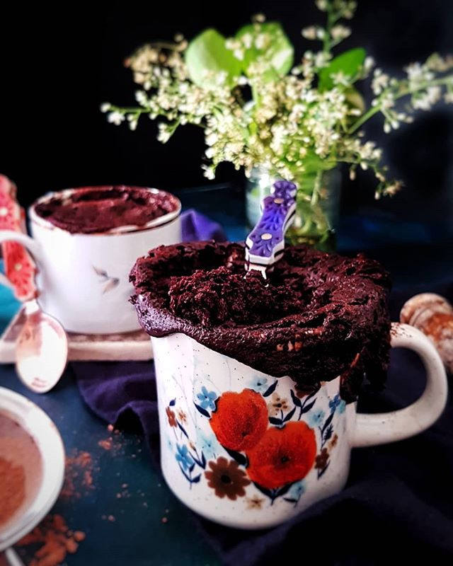 Cassava Flour Gluten Free  Vegan Chocolate Mug Cake