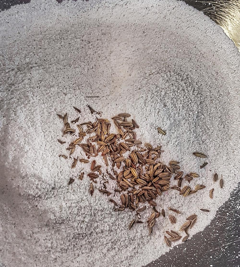 Anise Seeds and Cornmeal Flour