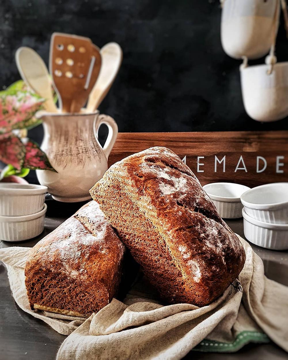 Gluten Free and Vegan Sandwich Loaf