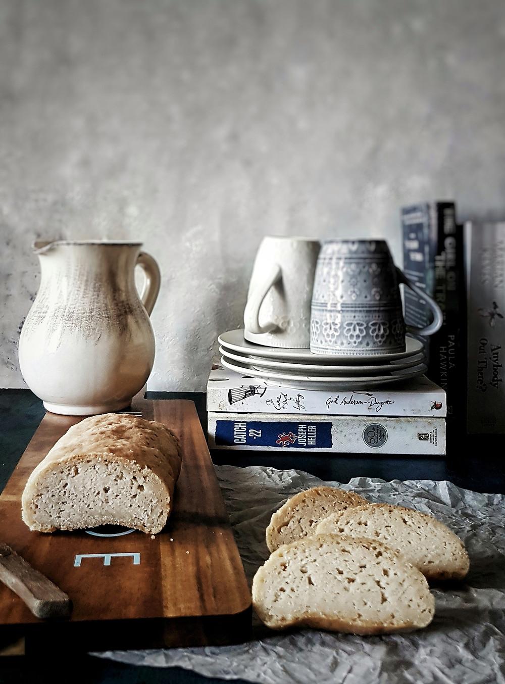 Gluten Free Vegan White Sandwich Bread
