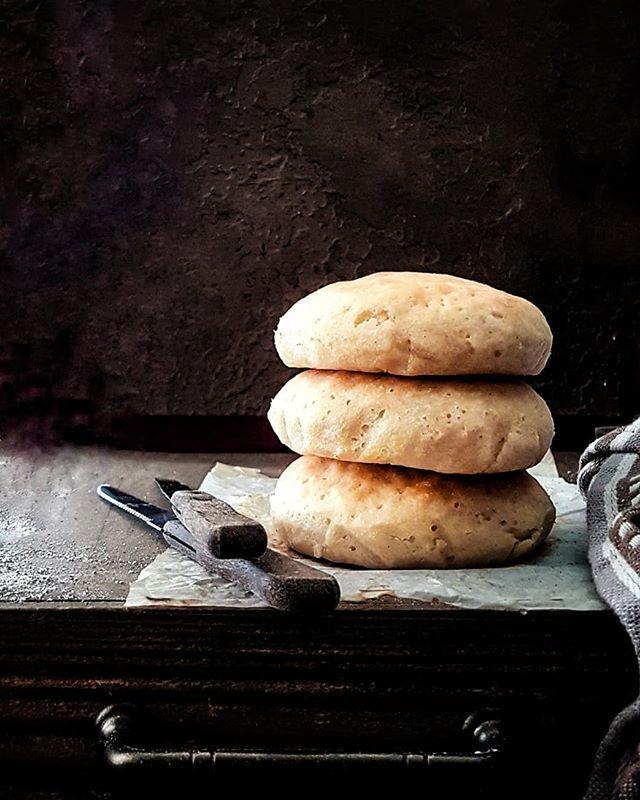 Trini hops bread made gluten free and vegan