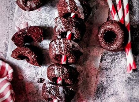 Red Velvet Blender Donuts (gluten free & vegan)