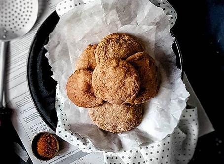 Gluten Free & Vegan Banana Puri (Banana Fry Bake)