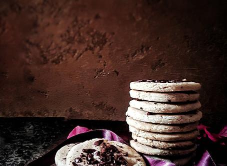 Butterscotch Chocolate Chip Cookies, Gluten Free & Vegan