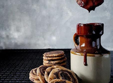 Chocolate Chip Pinwheel Cookies (GF and Vegan)