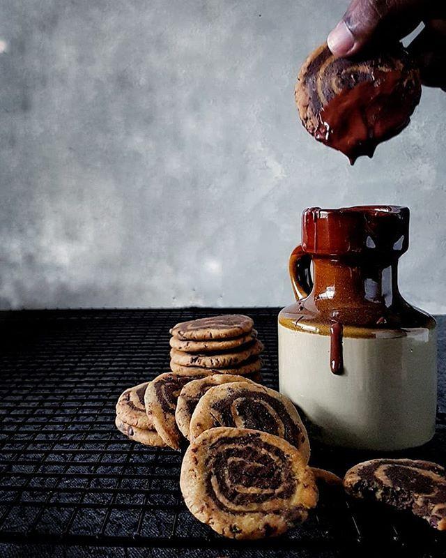 Gluten Free and Vegan Chocolate Chip Pinwheel Cookies