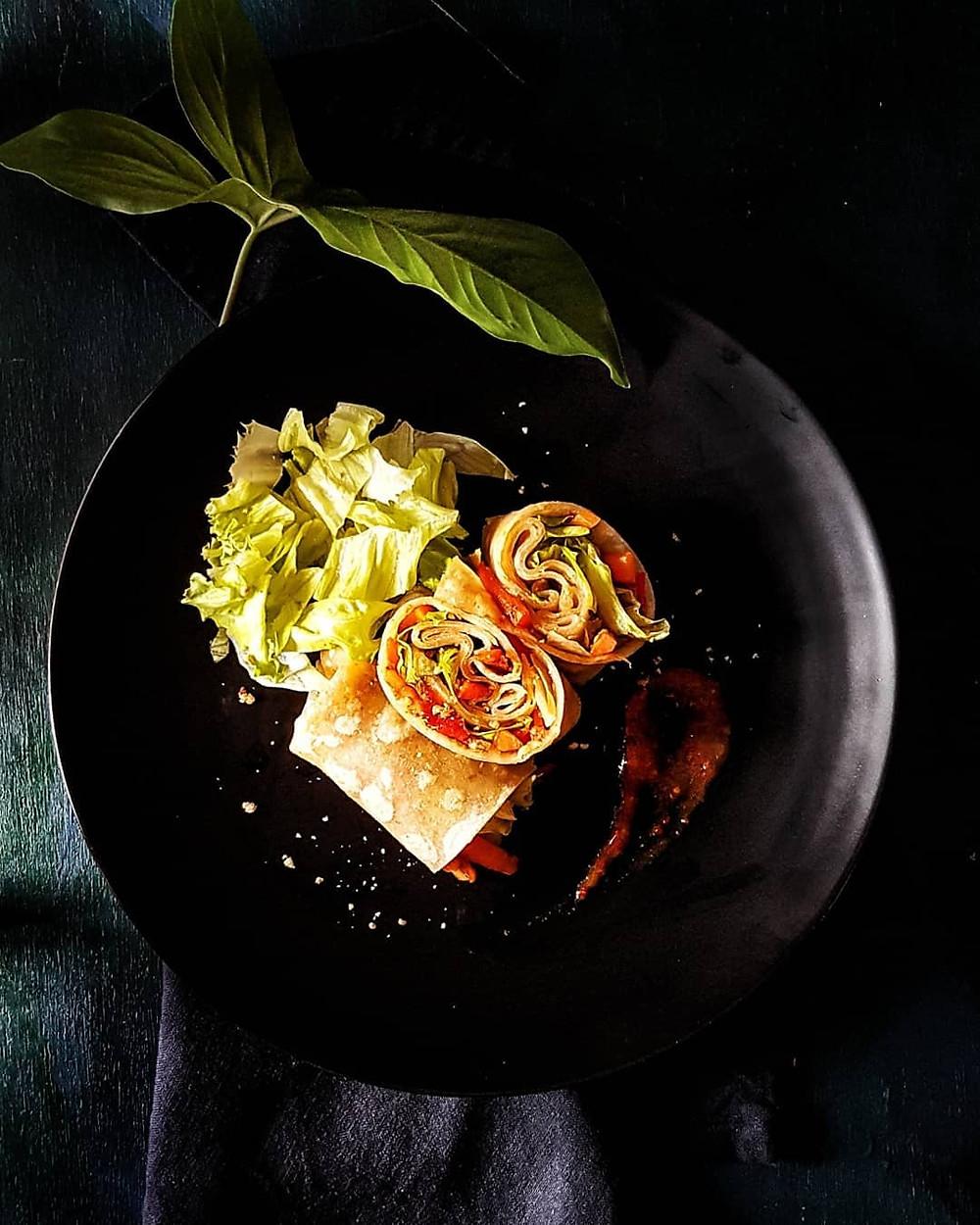 Gluten Free and Vegan Soft Cassava Wraps