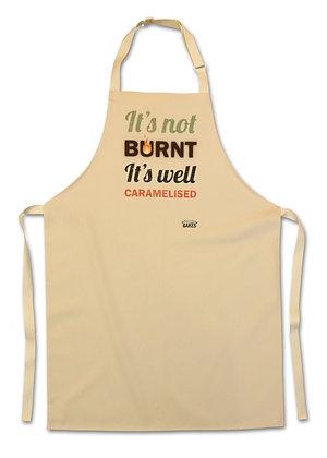 'It's Not Burnt...' Apron