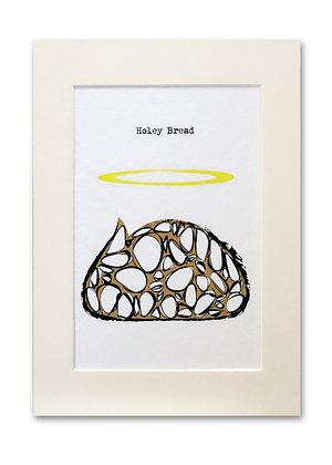 'Holey Bread' Print
