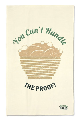 'You Can't Handle...' Tea Towel