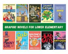 Graphic Novels for lower elementary.jpg