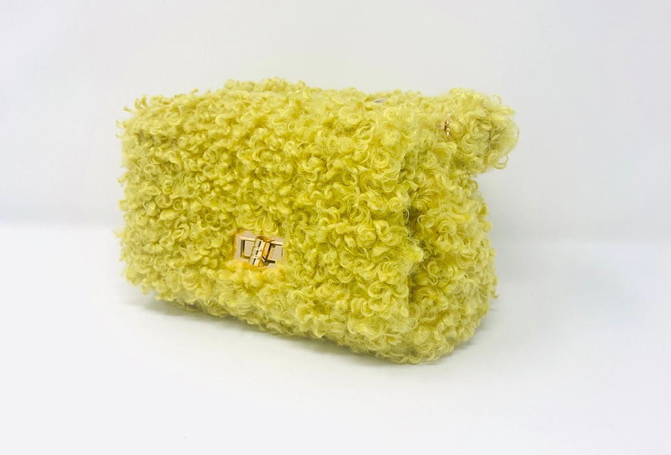 Mini yellow purse