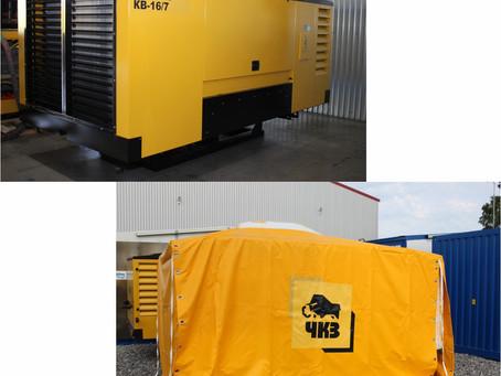 Разработана и изготовлена КУ с дизельным приводом «КВ 16/7» стационарного исполнения
