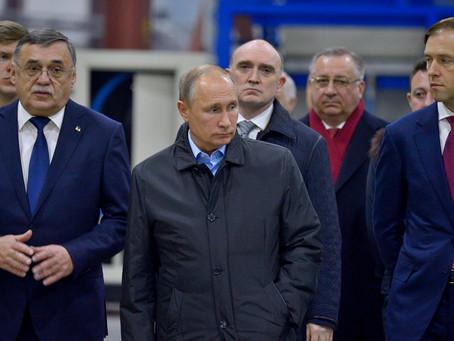 Владимир Путин посетил ООО «Челябинский компрессорный завод»