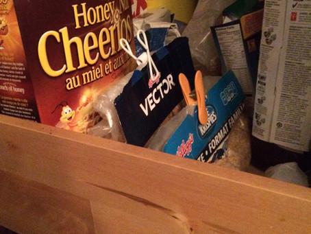 Kitchen Organization Idea – Cereal Bags