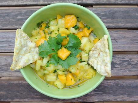 Maple Mango & Pineapple Salsa