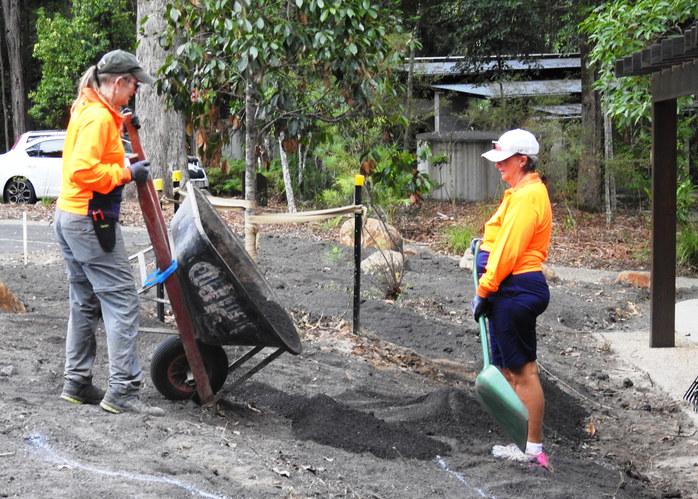Pandorea Garden Refurbishmen (March 2019)