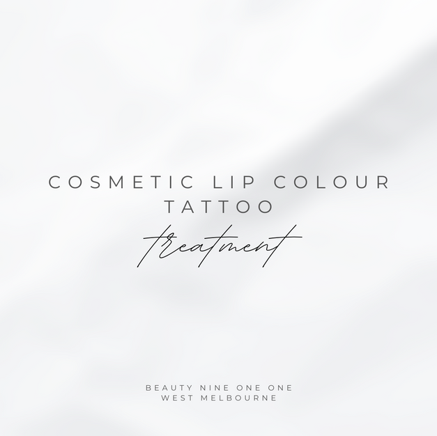 Cosmetic Lip Colour Tattoo