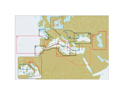 C-MAP by JEPPESEN WIDE NT+
