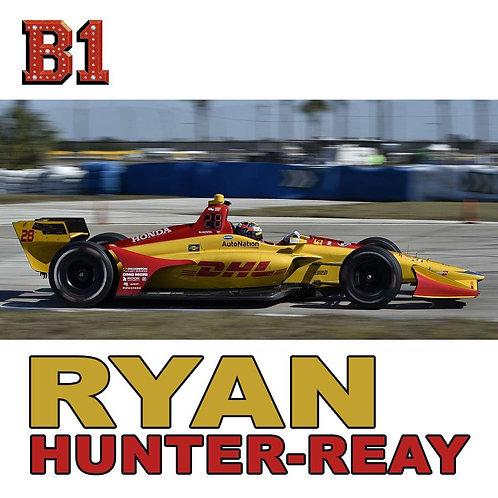 Ryan Hunter-Reay B1 Patch
