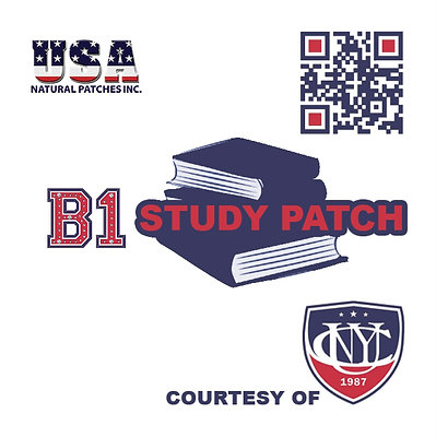 3 Pack B1 Patch for CUNY Students