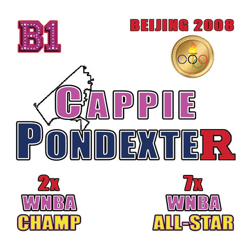 Cappie Pondexter B1 Patch