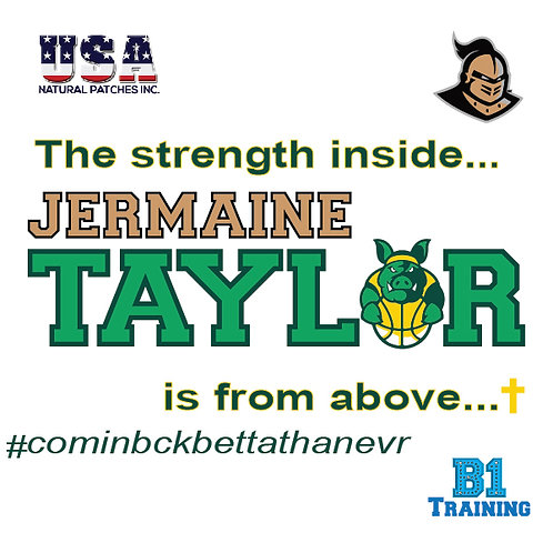 Jermaine Taylor B1 Patch