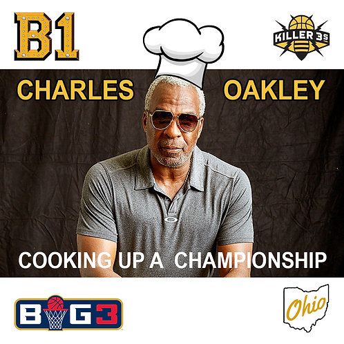 Charles Oakley B1 Patch