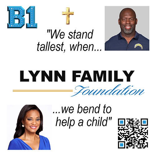 Lynn Family Foundation B1 Patch
