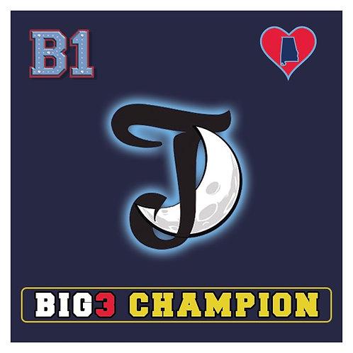 Big3 Champion B1 Patch