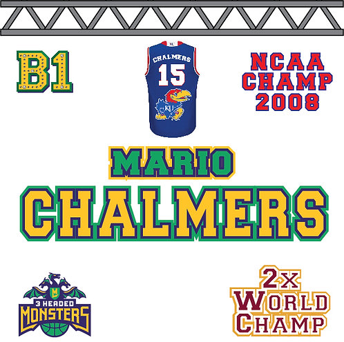 Mario Chalmers B1 Patch
