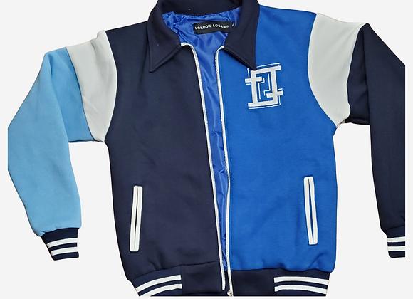 Monochromatic Varsity Jacket