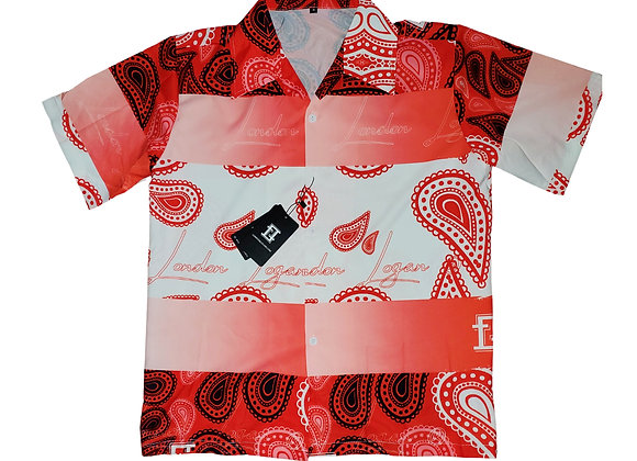 BloodMoney Bandana print shirt