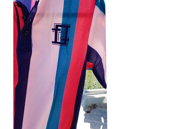 Summer Stripe Polo
