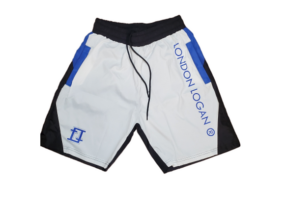 LO Sport Shorts White/Blue