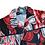 Thumbnail: Black & Red Patchwork shirt