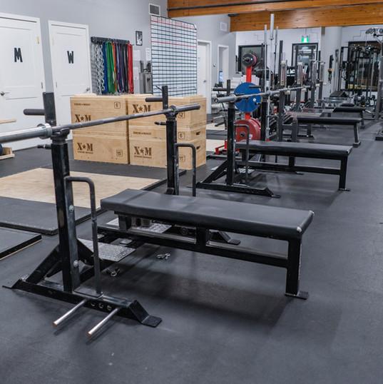 5 bench presses