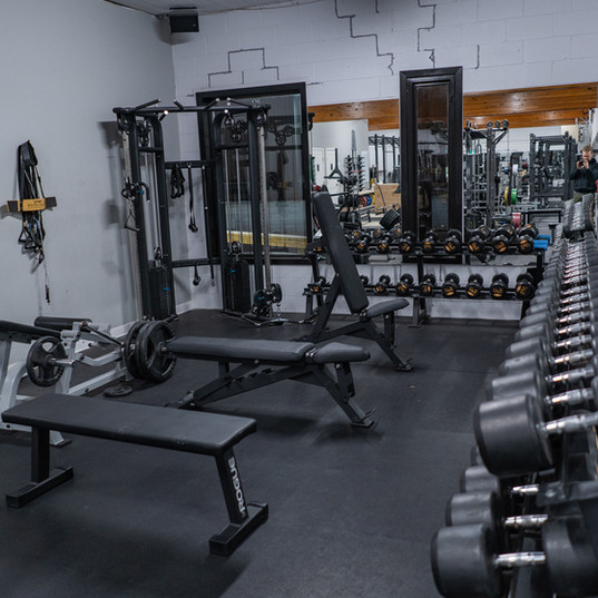Dumbbells from 5lbs to 120lbs