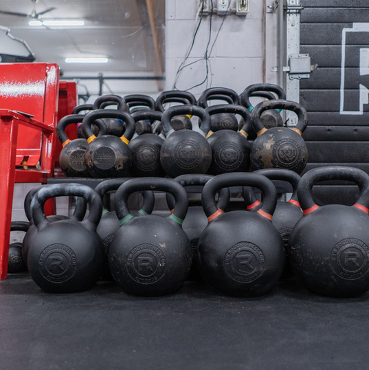 Largest range of kettlebells in Sasaktoon