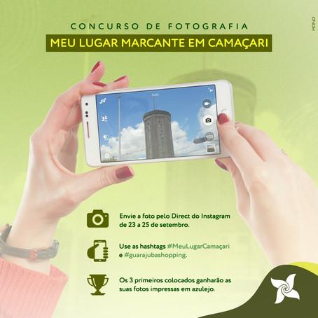 Concurso de fotografia - Meu lugar em Camaçari