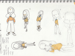 MINE: Bibie's Character  (Character Design class with Su-Lynn Tann)